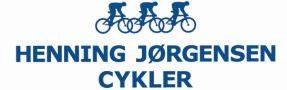 Henning Jørgensen cykler